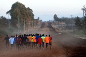 Kenyan Running image